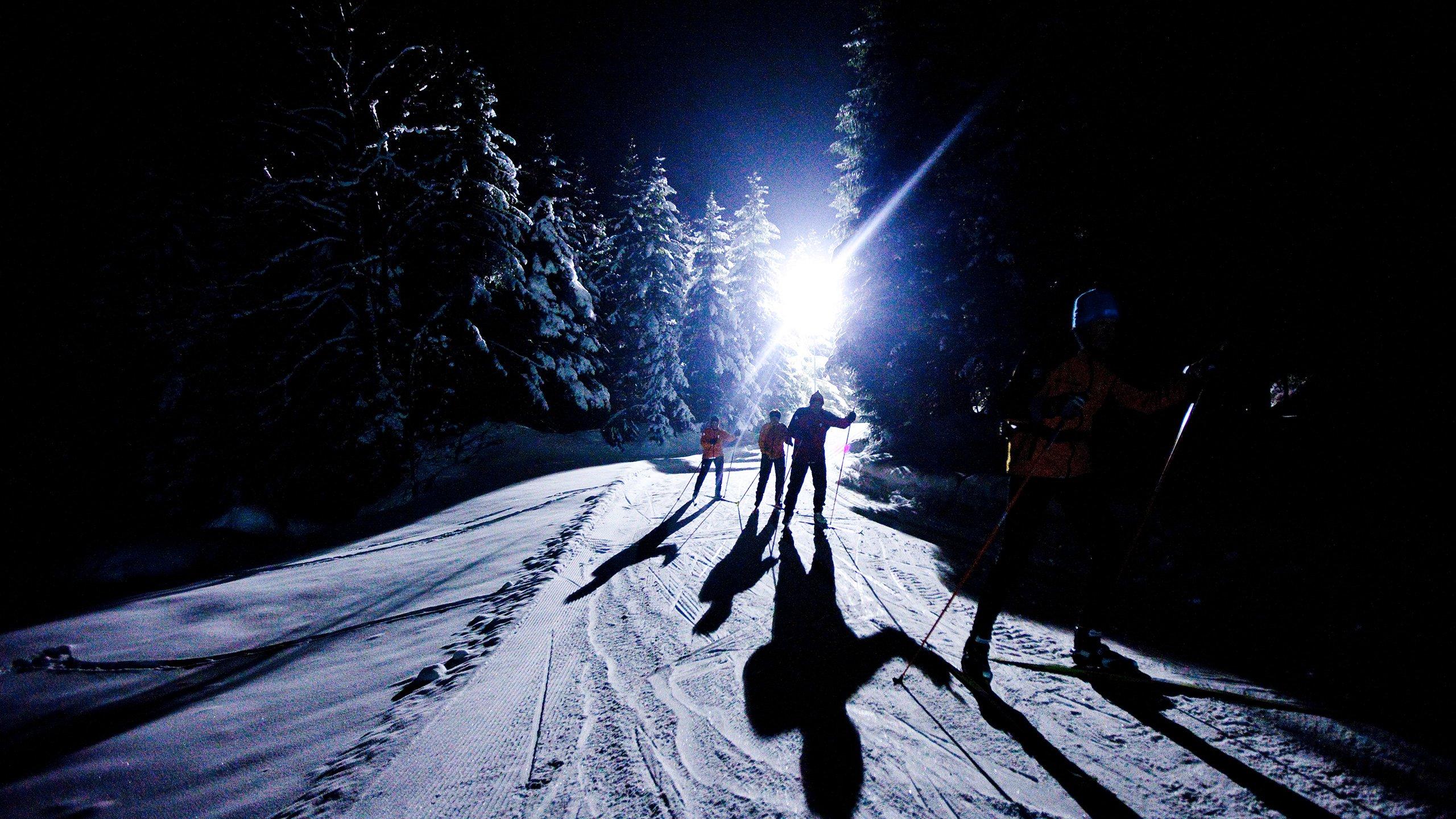 Slider Nachtlanglauf in Gadmen.