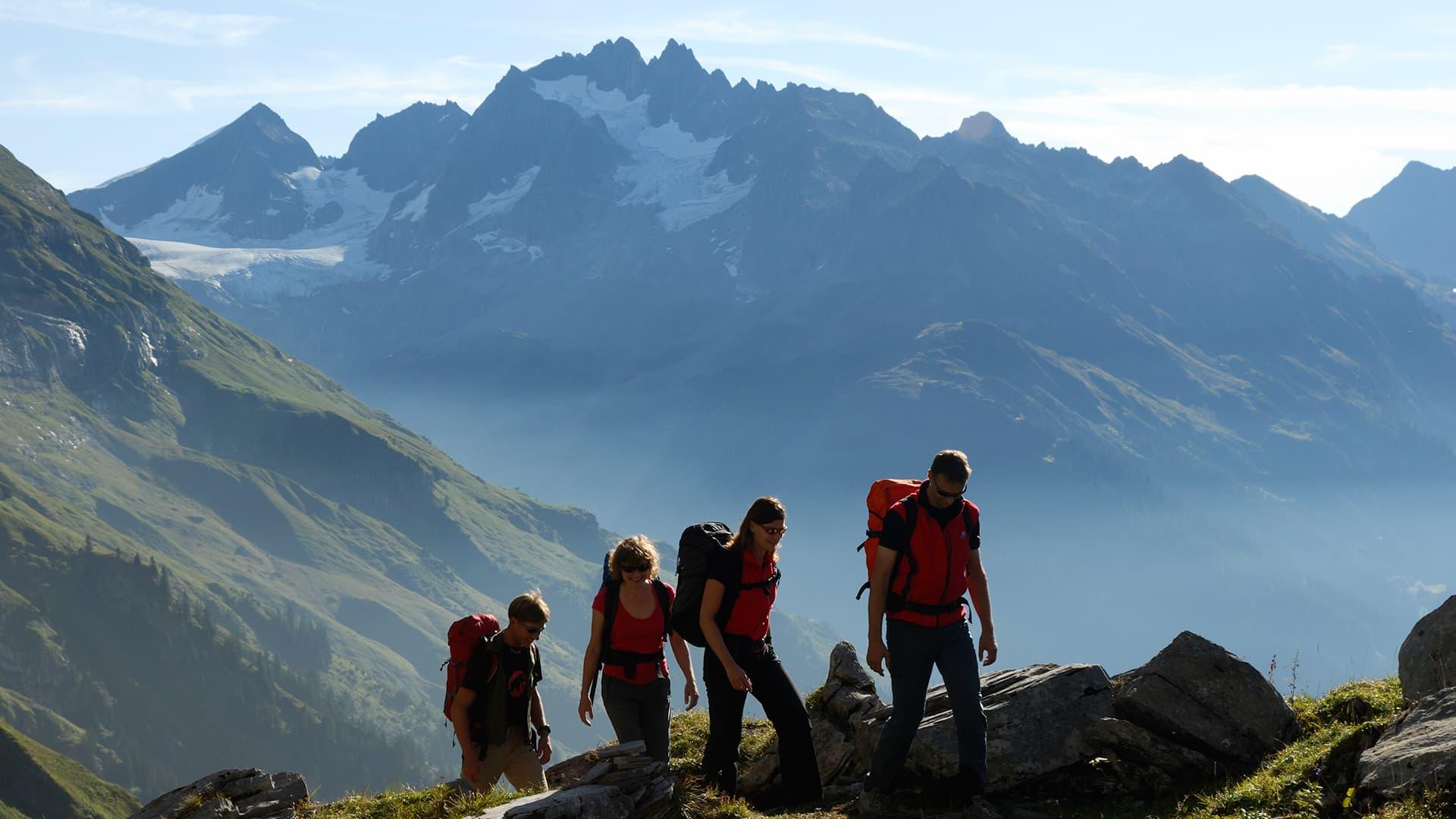 Klettersteig Tälli