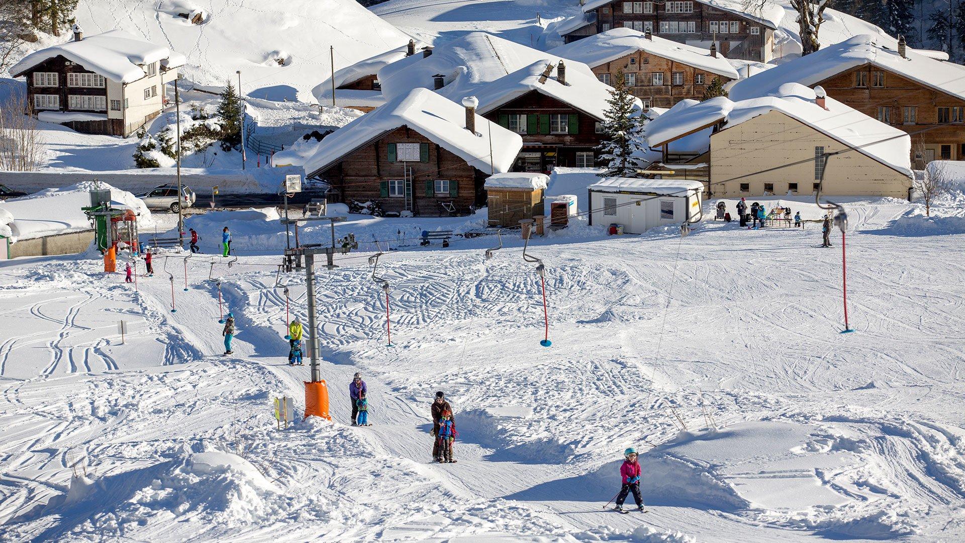 Der Skilift Gadmen ist zentral gelegen.