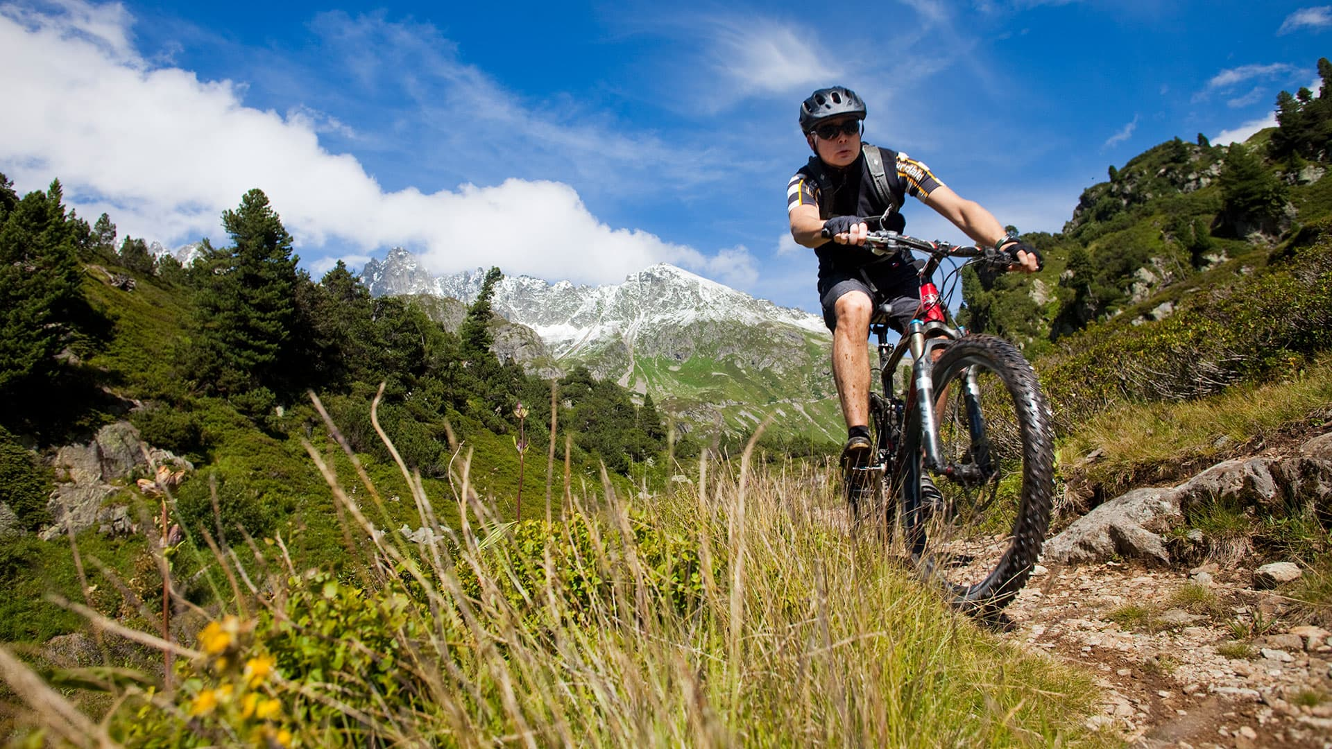 Mountainbike-Spass am Sustenpass!