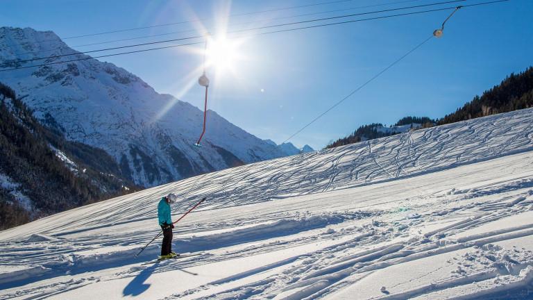 Geniessen Sie einen Skitag am Skilift Gadmen.