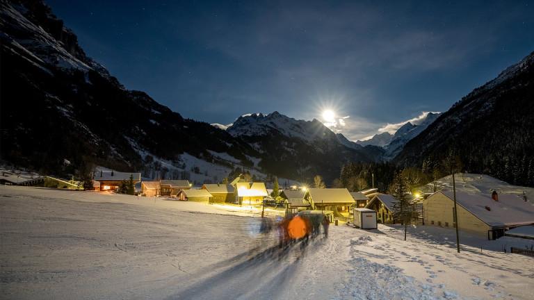 Mondscheinwanderung Gadmen by David Birri