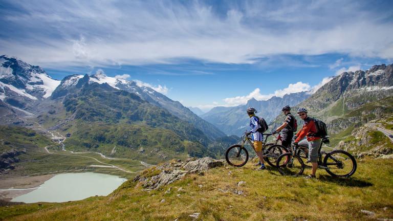 Mit dem Mountainbike über den Sustenpass